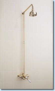 SF Victorian Thermostatic Mixer Shower