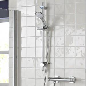 Artisan Thermostatic Bar Shower Valve with Evo Shower Kit and Multifunction Handset
