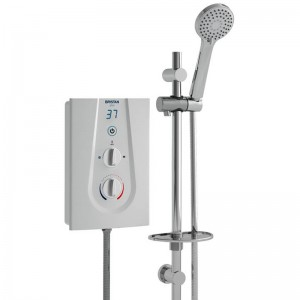Glee 9.5kW Electric Shower White