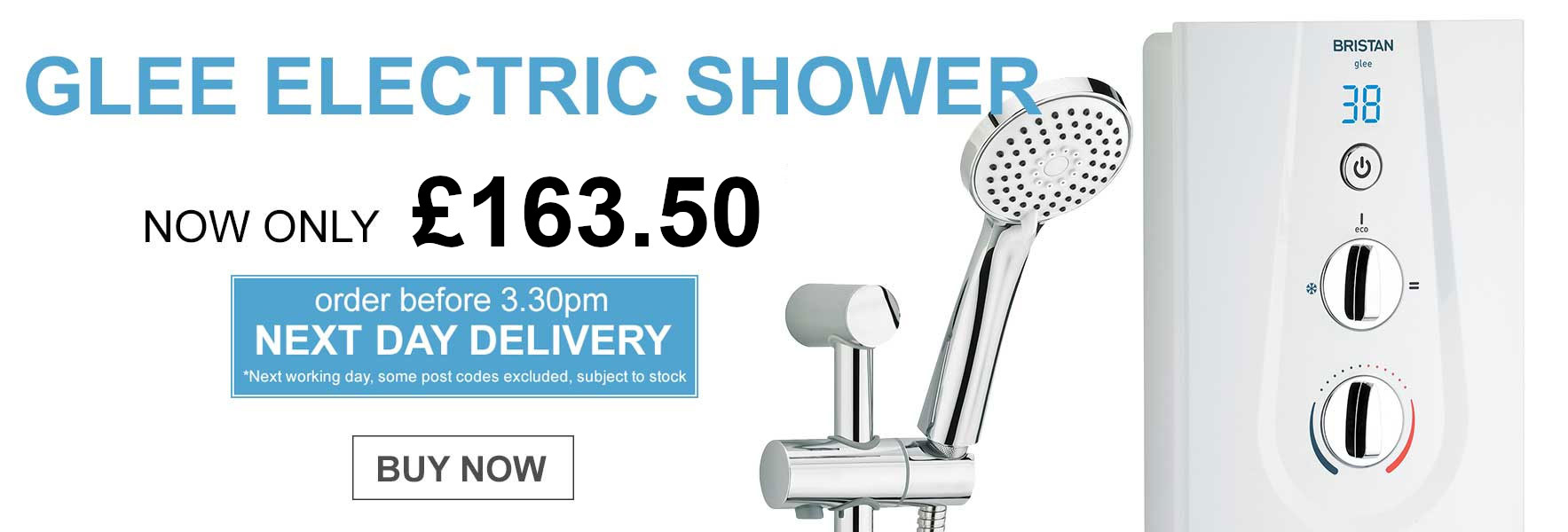 Replacement New Team Electric Showers